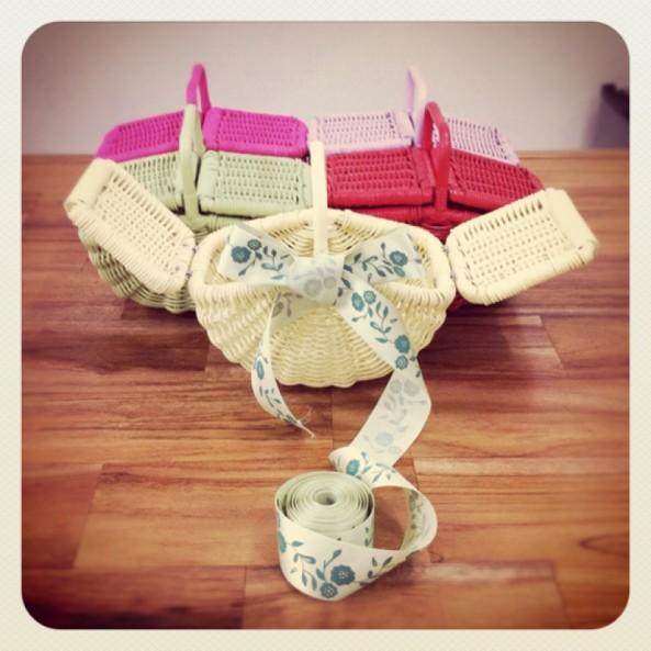 Rattan Handmade Rounded Basket